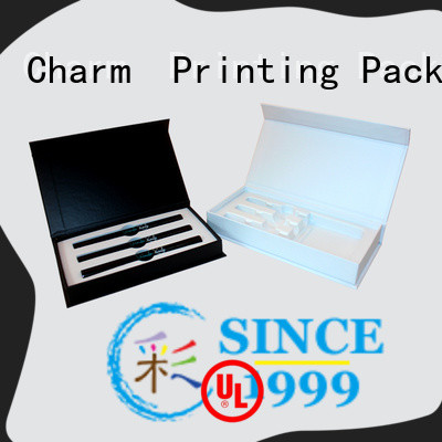 carboard magnetic gift box bulk production dental products