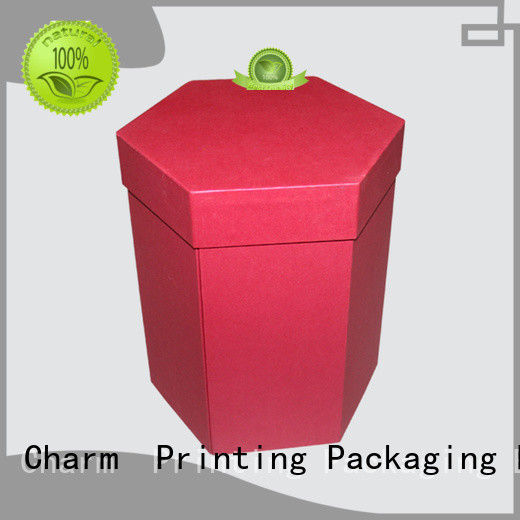 Charm Printing with tray pillow box handmade for gift