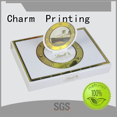 Charm Printing chocolate box foil stamping for chocolate box