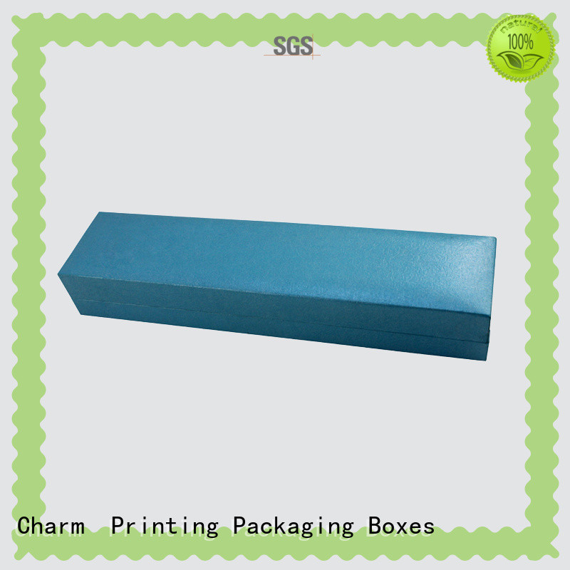 CharmPrinting with tray jewelry gift boxes high-quality for jewelry packaging