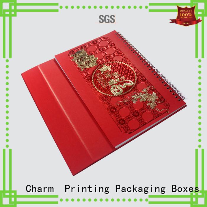 CharmPrinting magnet gift box manufacturer for festival packaging