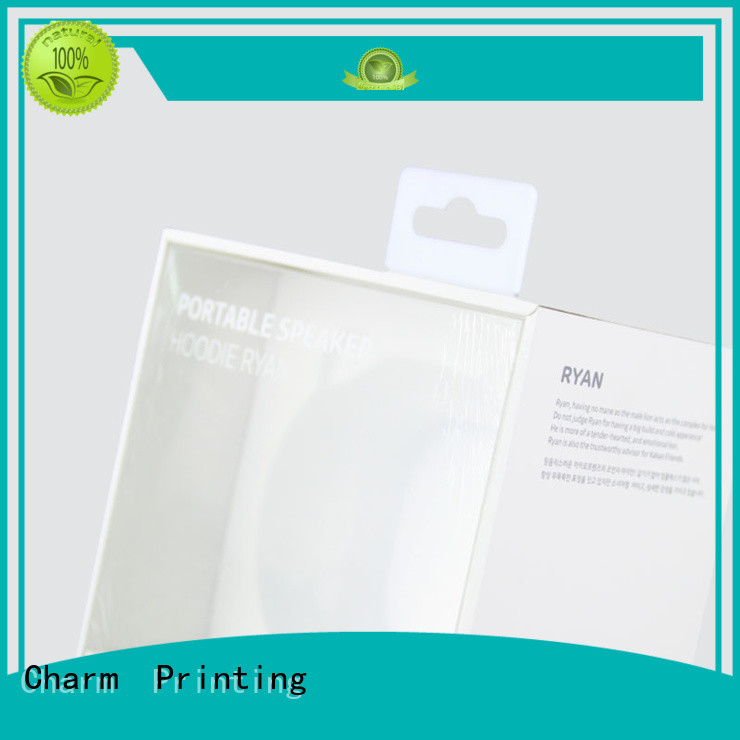 Charm Printing electronics packaging craft paper for electronic produts