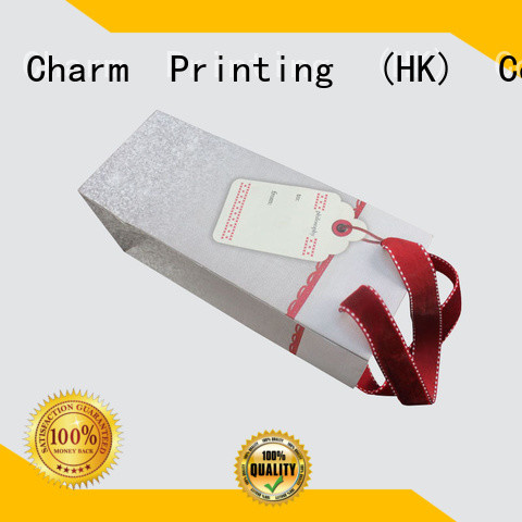 Charm Printing OEM paper shopping bags fashion design for paper bag