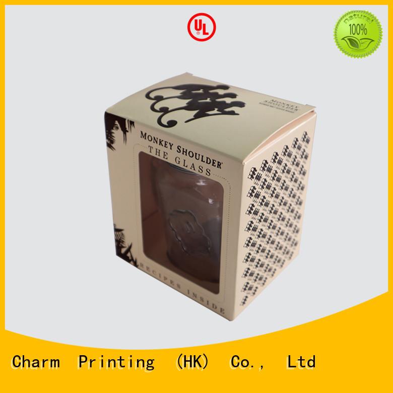 CharmPrinting candle gift box oem
