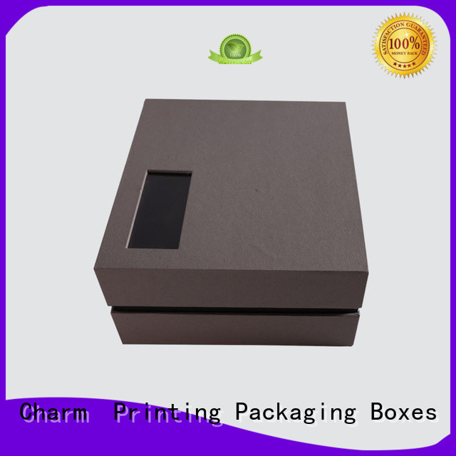 CharmPrinting apparel packaging boxes handmade for gift