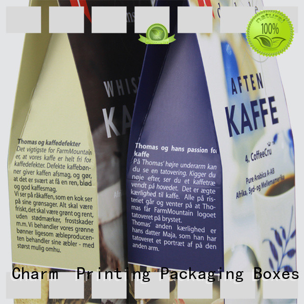 Charm Printing with tray gift box factory price for food box