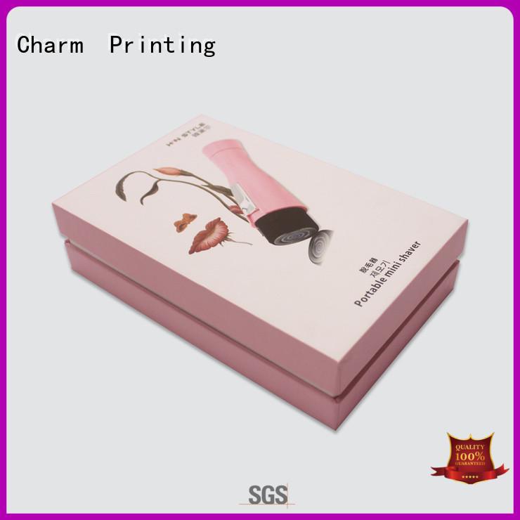 CharmPrinting paper gift box bulk production dental products