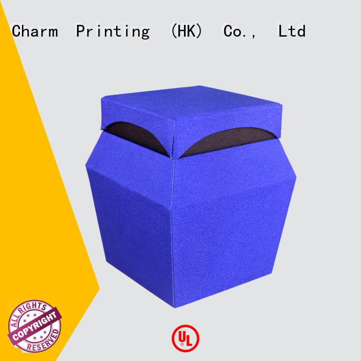 CharmPrinting with ribbon perfume packaging box colorful for modern mowen