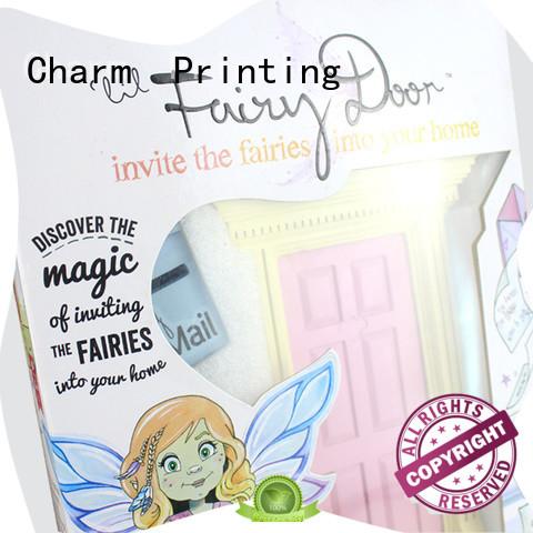 CharmPrinting colorful paper carton box corrugated Box