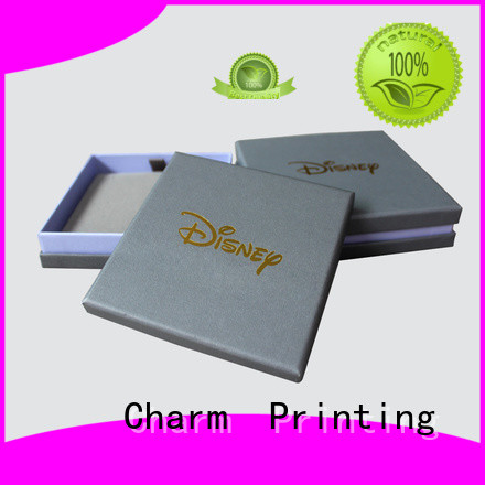 book shape ring jewelry box luxury design for jewelry packaging CharmPrinting