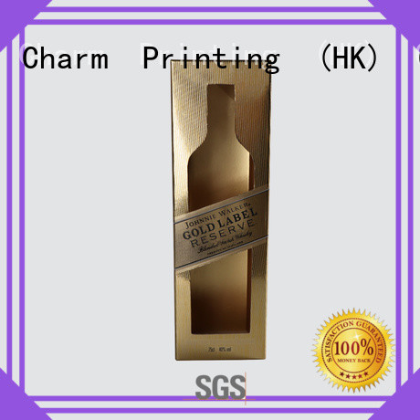 Charm Printing personalized wine packaging box luxury design wine packaging