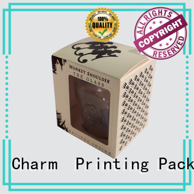 Charm Printing candle gift box good for gift