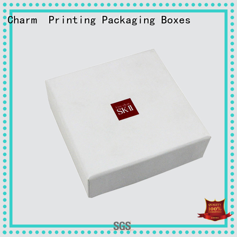 CharmPrinting cosmetic packaging box high quality gift package
