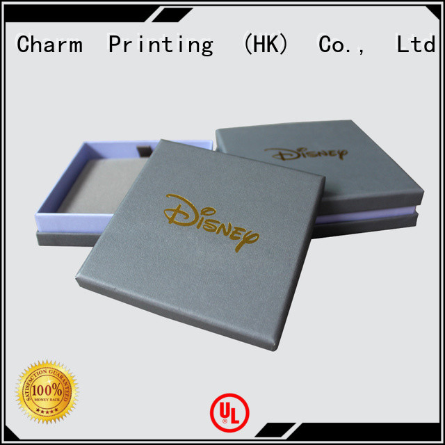Charm Printing jewelry gift boxes luxury design for gift box