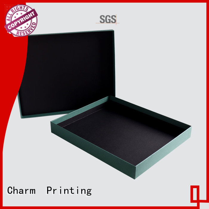 CharmPrinting manufacturer clothing packaging boxes special-shape box for clothes