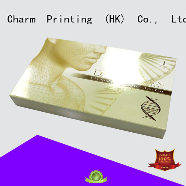 CharmPrinting handmade cosmetic box offset printing storage