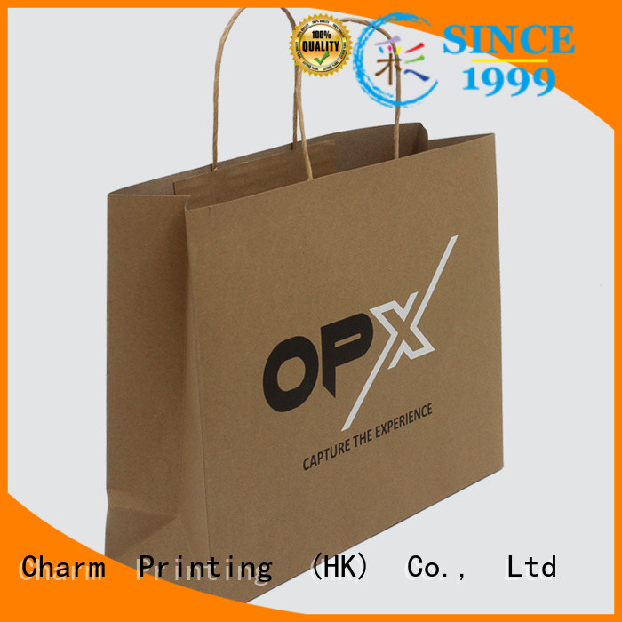 Charm Printing paper gift bags latest for paper bag