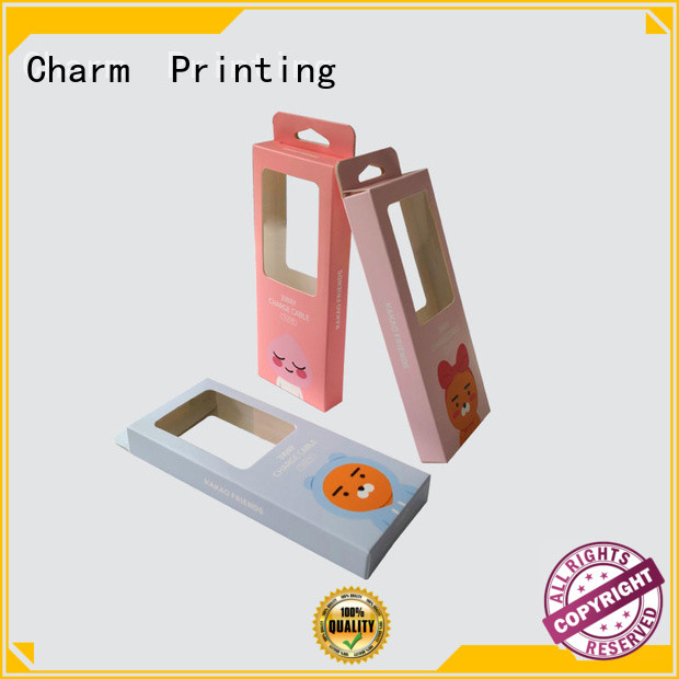 Charm Printing professional design electronics packaging handmade for electronic produts
