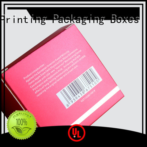 Charm Printing handmade cosmetic packaging box offset printing storage
