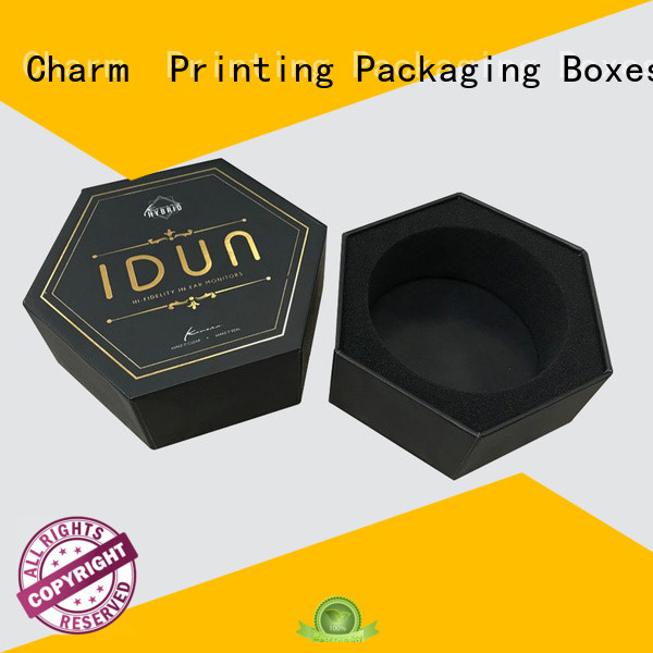 Charm Printing packaging box colorful for gift box
