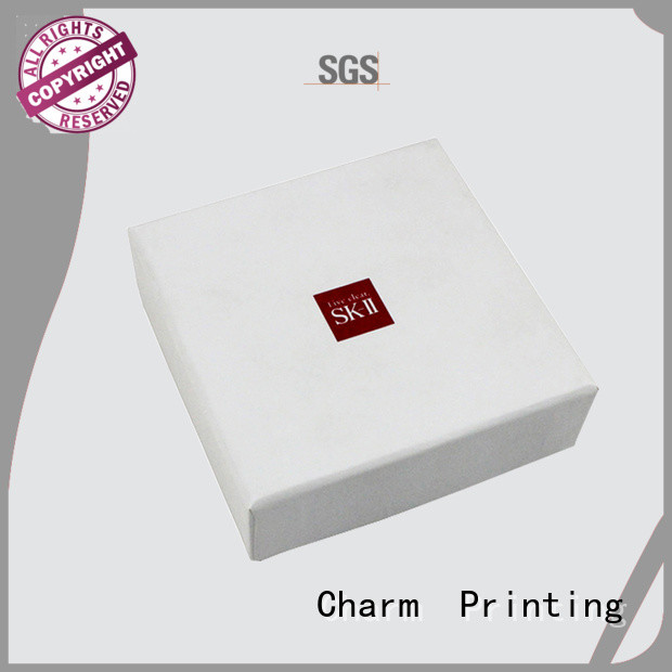 cosmetic box offset printing storage Charm Printing