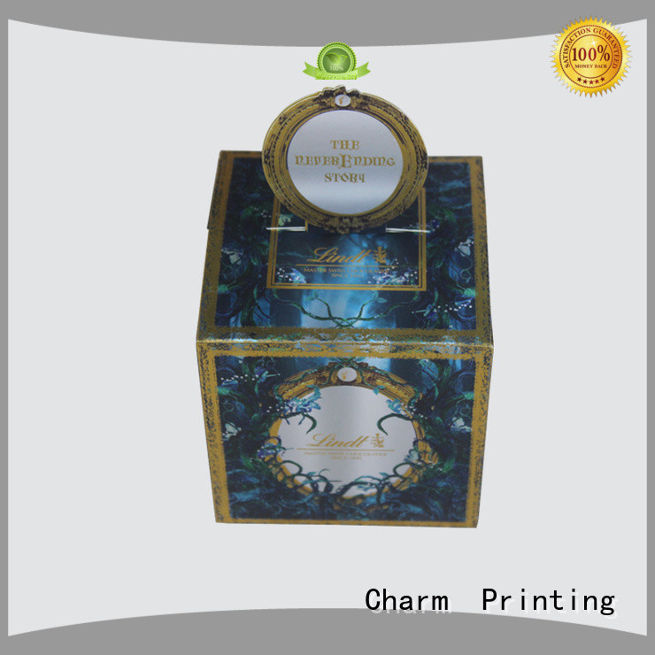luxury chocolate packaging box automatic slide luxury box