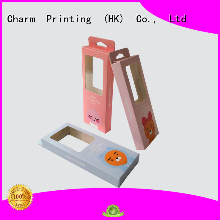 CharmPrinting special-shape electronics packaging craft paper for box packaging