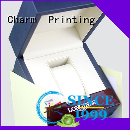 CharmPrinting with tray jewelry box high-quality for luxury box