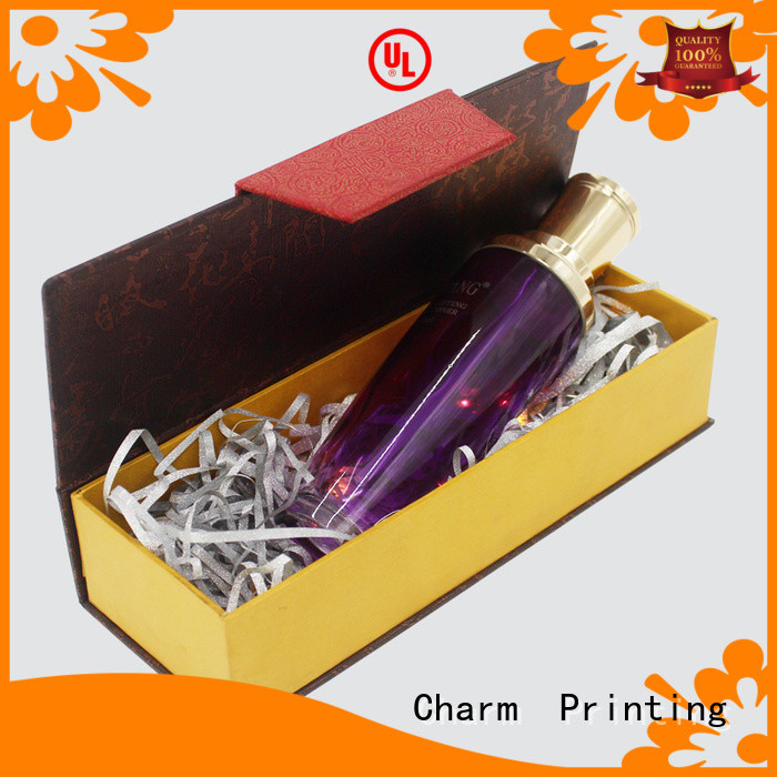 handmade cosmetic packaging box high quality shop promotion