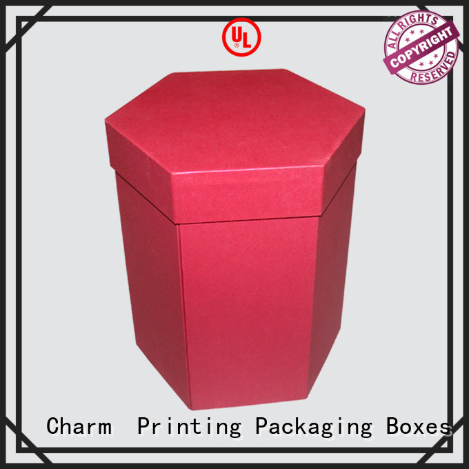 CharmPrinting with tray pillow box for food box
