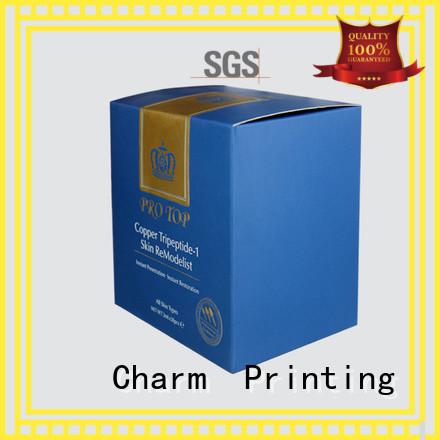 customized cosmetic box offset printing storage