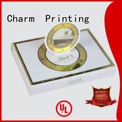 Charm Printing luxury chocolate packaging thick luxury box