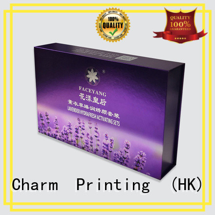 Charm Printing cosmetic packaging box high quality gift package