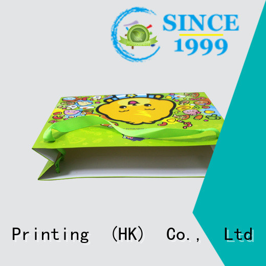 Charm Printing paper bag fashion design for shopping bag