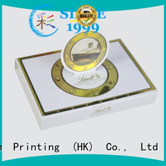 CharmPrinting luxury chocolate packaging box automatic slide luxury box
