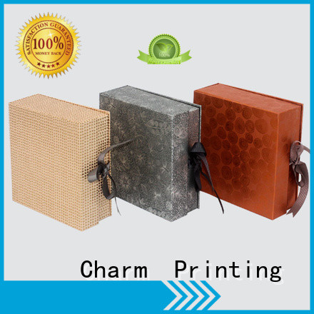 Charm Printing magnet gift box gift box OEM for packaging