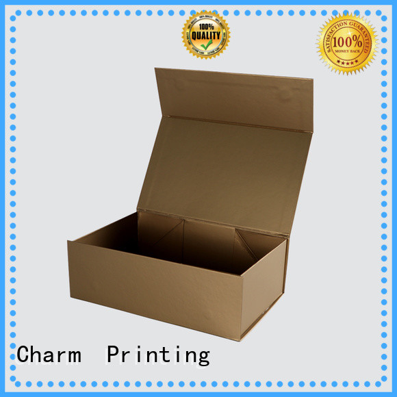 Charm Printing customized makeup cosmetic box storage