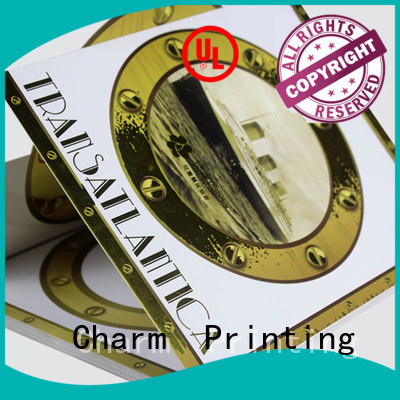 Charm Printing art paper wedding packaging bulk production for gift
