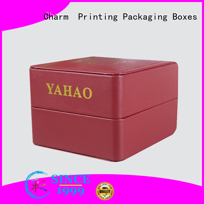 CharmPrinting jewelry packaging box luxury design for jewelry packaging