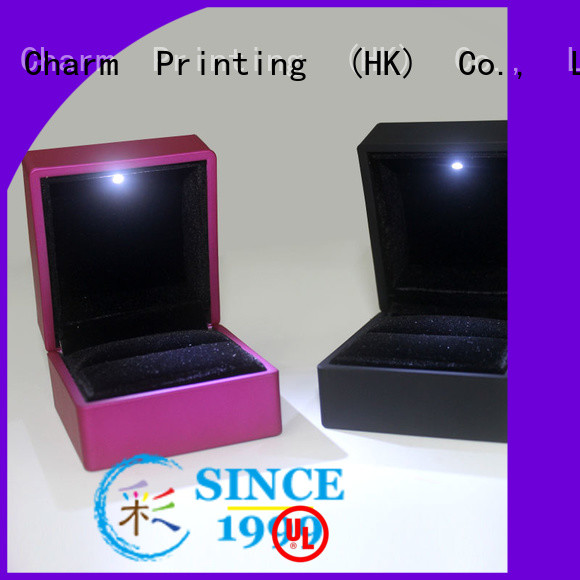 CharmPrinting jewelry gift boxes factory price for jewelry packaging