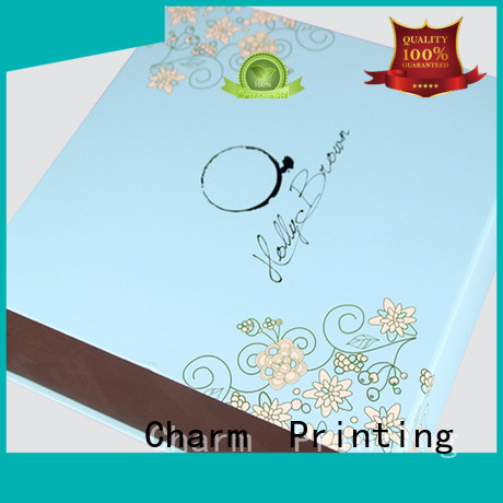 Charm Printing special shape gift box factory price for food packaging