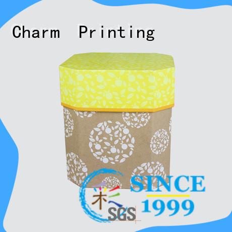 CharmPrinting with ribbon perfume box printing color for fashion women