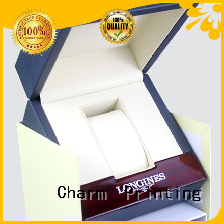 Charm Printing jewelry box factory price for jewelry packaging