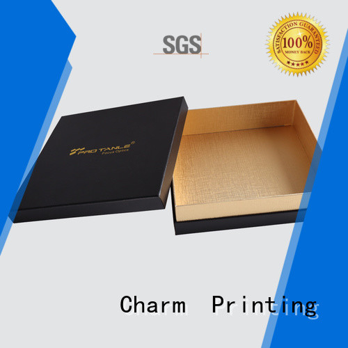 CharmPrinting book shape chocolate packaging box thick luxury box
