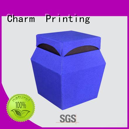 CharmPrinting perfume packaging box free sample for fashion women