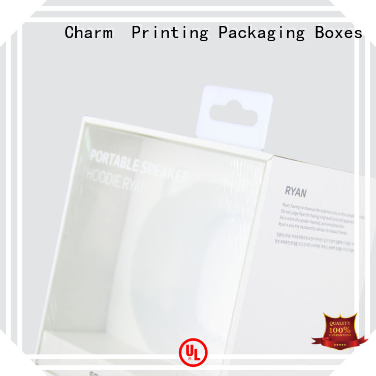 electronics packaging craft paper for box packaging Charm Printing