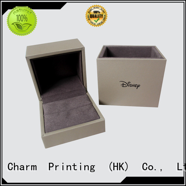 Charm Printing book shape jewelry box high-quality for gift box