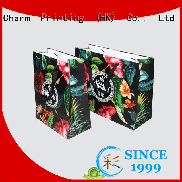 OEM paper bag fashion design for gift box
