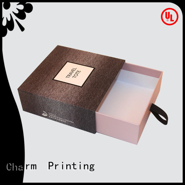 with ribbon fragrance box printing color for fashion women