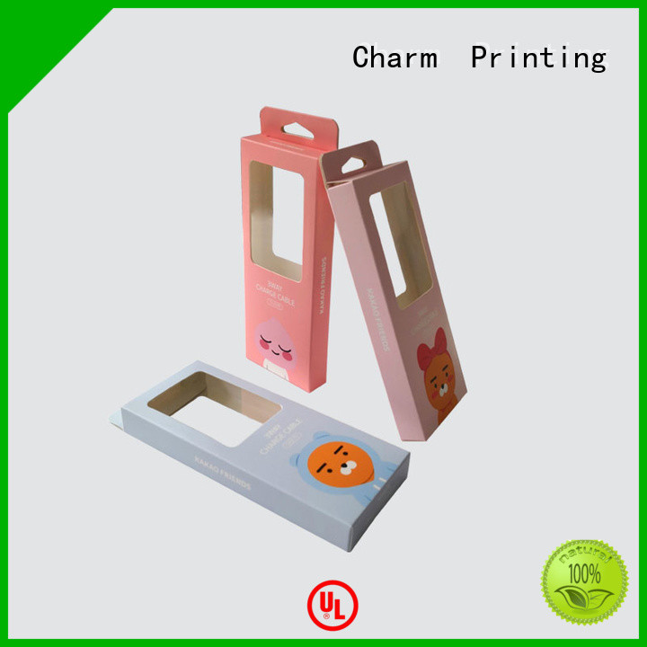 CharmPrinting electronics packaging craft paper for box packaging